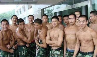 中国军人秀肌肉, 在这些外国军人肌肉男中水平如何