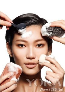 超详细使用PS制作简易化妆品海报图的方法