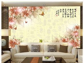 新中式意境抽象3d客厅卧室背景墙壁画图片设计素材 高清psd模板下载 ...