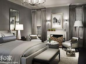 分分彩三星组三复式- 案例点评:整个卧室素雅又不失华丽!灰色是一个非常重要的色彩组成...