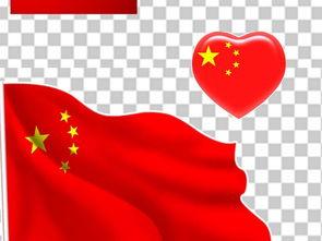 党旗飘带中国国旗天安门人民大会堂背景素材图片下载png素材 其他