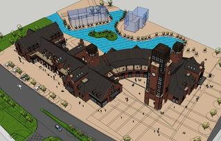 广场公园sketchup模型库园林景观设计资料图下载 图片350.75MB 公共...