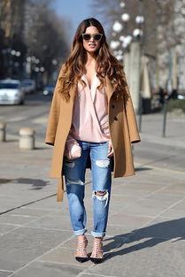 ...搭配女装外套 牛仔裤 瞬间变身国际范