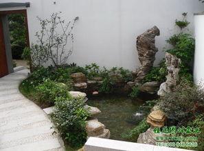 【甘肃家庭鱼池设计 楼顶假山设计】- 黄页88网