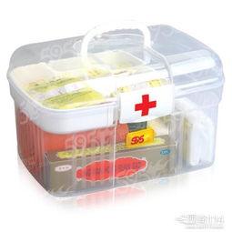 医药箱图片 家用医药箱常备药品