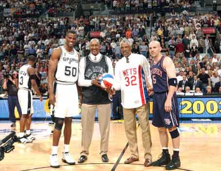 经典回顾 2003NBA总决赛马刺VS篮网