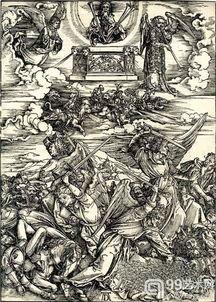 ...死亡四骑士》 1498年-丢勒 启示录 登陆曼哈顿摩根图书馆与美术馆