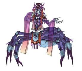 化茧为魔-夜寡妇   魔丝洞内   因妒而成魔的女子,形如蜘蛛, 经常以媚惑人.长...
