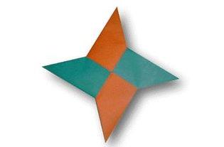飞镖的折法教你手工折纸飞镖图解教程 儿童手工制作大全