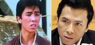 硬汉甄子丹和年轻时的照片也相差不少-首次公开央视主持整容惊悚照