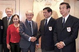 会见北京申奥代表-重温见证萨马兰奇与中国深厚友谊的30大经典瞬间