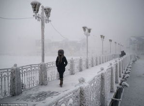 世界最寒冷村庄最低温达零下70度 Russian village Oymyakon coldest ...