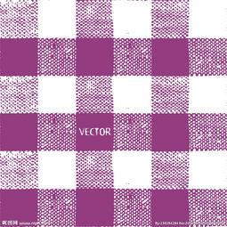 紫色与白色格子背景矢量素材图片