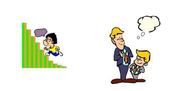 垂头丧气火柴人创意设计-卡通人物图片