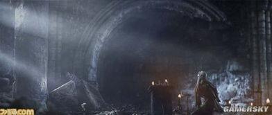 ...场景,这个极度末世的世界就是本作的舞台.前方的神秘建筑中到...