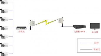 莱安农业监控全向无线视频传输 室外无线网桥图传设备 无线监控安装
