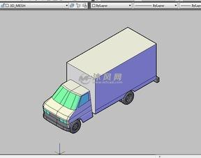 运钞车CAD三维设计图