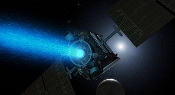 回到火星,一艘宇宙飞船以每小时2万多公里的速度飞入稀薄的大气层...