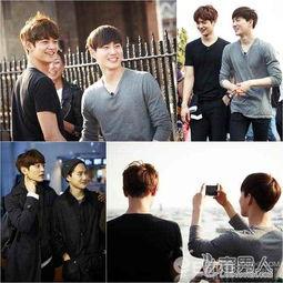 EXO队长SUHO与珉豪关系好 北京留学时为室友 图