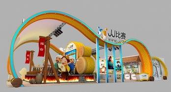 JJ比赛展传统棋牌文化 展台尽显中国风