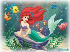 爱丽儿公主作品集,美人鱼 42550383