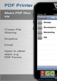 手机上的PDF制作器 PDF Printer for iPhone
