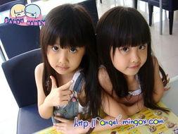 亲亲宝贝 网络最红双胞胎姐妹长大了