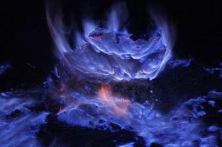 ...发令人惊奇蓝色火焰 小伙伴都惊呆了 1 科学探索