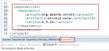 注意选择scope为provided 因为... servlet-api.jar和jsp-api.jar不需要我...