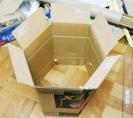 ...作环保家具 废纸箱DIY家庭组合收纳柜DIY图解
