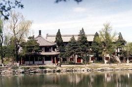 北京大学校园风景 图