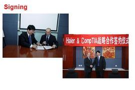 此次海尔电脑服务体系内将全面采用CompTIA A+等系列国际认证用于...