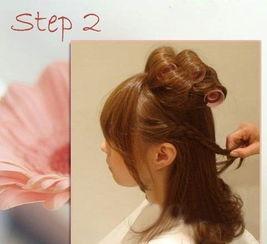 两款简单时尚编发盘发教程 迷人约会蓬松感发型