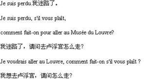 mment 是特殊问句的疑问词,... 法语口语中常用的句型,表示