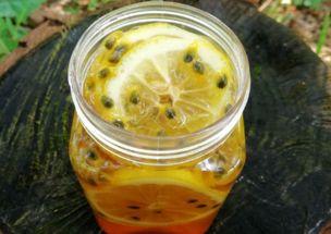 喝百香果柠檬蜂蜜水的功效和好处