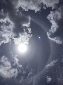 ... 日晕 奇观,qq网名女生超拽霸气繁体字带符号但接下来的天气却