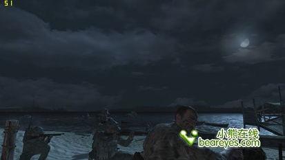 《使命召唤5:战争世界》游戏截屏(宏碁(Acer) Aspire 4551G-P...