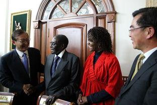 外交部副部长张明访问津巴布韦