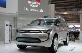 三菱PX-MiEV概念车-三菱新SUV车型官图曝光 与欧蓝德同平台