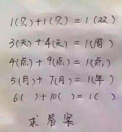 数学题竟难倒众人 6 10 等于1