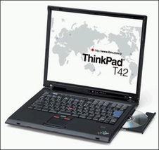 IBM T42行货笔记本优惠送256M MP3