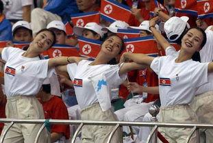 朝鲜女兵漂亮不是盖的
