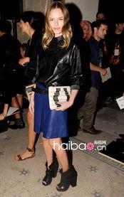 ...的都是超会穿的美女 纽约时装周普罗恩萨 施罗 Proenza Schouler ...