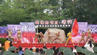 ...《我们是英勇的东江纵队》-东莞市开展传承东纵薪火唱诵活动