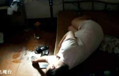 怀孕九月美女520直播自杀 视频图像来自微信公众号-怀孕九月美女520...