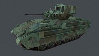 次世代美国M2 布雷德利 步兵战车图片下载max素材 游戏动漫