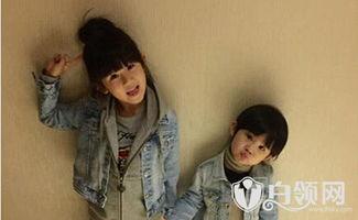 陆毅与两个女儿合影,网友 这仨是龙凤胎吧
