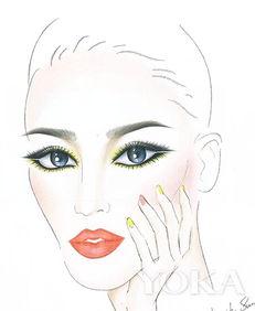 我行我色玩爽-蜜丝黄充满活力、天马行空   最适合大胆尝试色彩奔放的妆容   黄色眼...