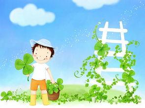 可爱小男孩卡通图片 韩国插画19