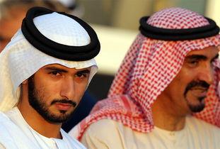 最帅迪拜王子心脏病死了,迪拜33岁王子家庭背景中国妻子最新照片